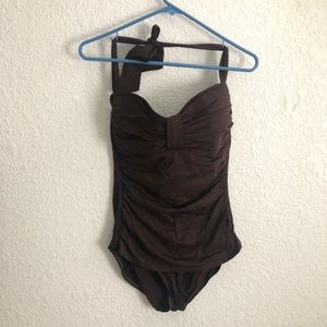 Tommy Bahama Ruched Swimsuit